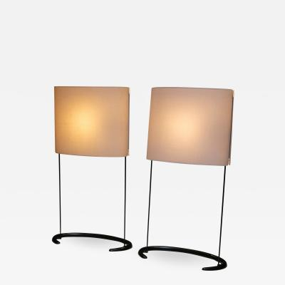 Arteluce Pair of Gala Table Lamps by Paolo Rizzatto for Arteluce