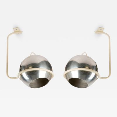 Arteluce Set of Two Ceiling Lamps by Gino Sarfatti for Arteluce