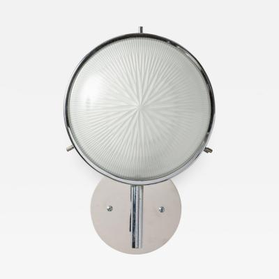 Artemide 1960s Studio B B P R Glass and Metal Sconce