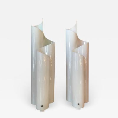 Artemide Acrylic table lamps