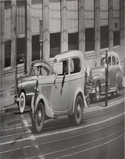 Arthur Fellig Weegee Weegee Car Distortion Photograph