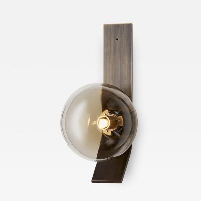 Articolo Lighting DUO WALL SINGLE BALL WALL SCONCE