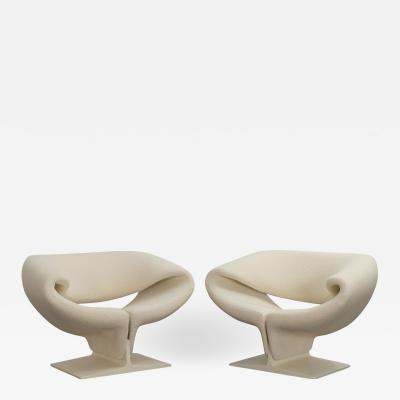 Artifort Pierre Paulin Ribbon Chairs