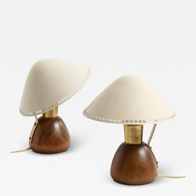Asea Table Lamps Produced by ASEA