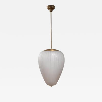 Asea Very large ASEA bullet shaped pendant lamp