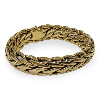 Asprey International Limited Asprey Co Handmade 18K Bracelet 20th Century