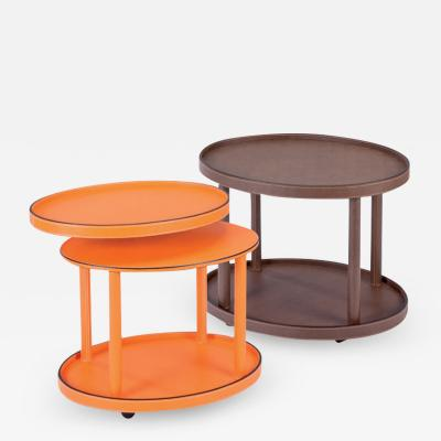 Astele POLO LEATHER TRAY TABLE