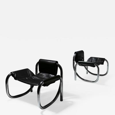 Atelier De Troupe Rare Pair of Coda Chairs by Atelier De Troupe