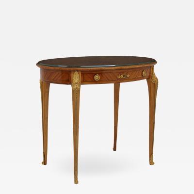 Au Gros Ch ne Antique Parisian Neoclassical Style Side Table by Au Gros Ch ne