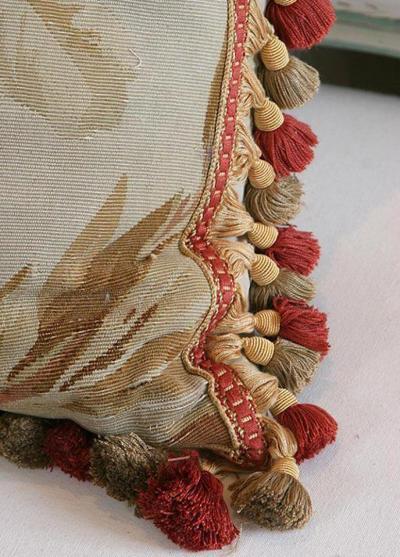 Aubusson Antique Aubusson Pillow