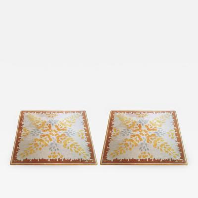 Aubusson Pair of Vintage Aubusson Rugs