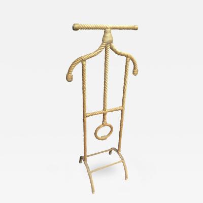 Audoux Minet Audoux Minet Rare Rope Coat Rack