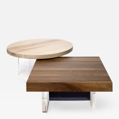 Autonomous Furniture Constantinople Walnut Table Set with Storage