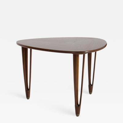 B C M bler Triangular Coffee Table by B C M bler Denmark 1950s