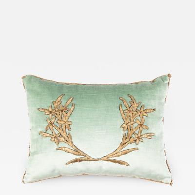B VIZ Design Antique Ottoman Empire Raised Gold Embroidery E072221 12 x 16