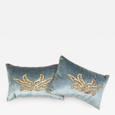 B VIZ Design Antique Ottoman Empire Raised Gold Embroidery E081021A B 11 x 17