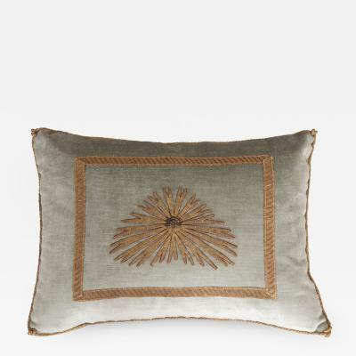 B VIZ Designs B Viz Design Antique Textile Pillow