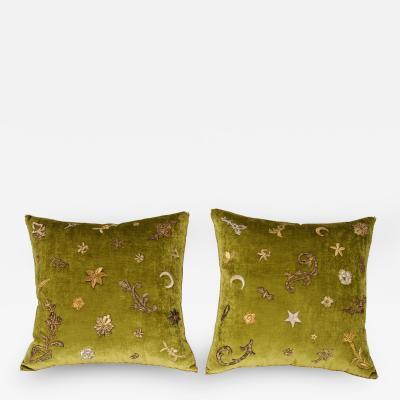 B VIZ Designs B Viz Design Antique Textile Pillows