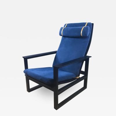 B rge Mogensen Borge Mogensen B rge Mogensen Model 2254 Ebonized Sled Chair Denmark