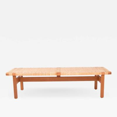 B rge Mogensen Borge Mogensen B rge Mogensen Oak bench for Fredericia Furniture