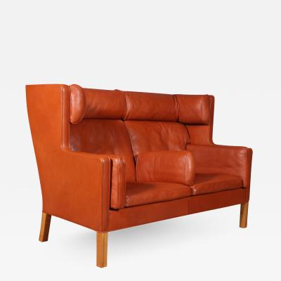 B rge Mogensen Borge Mogensen B rge Mogensen Two pers coupe sofa model 2192