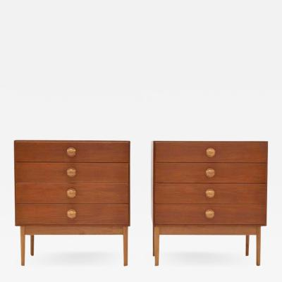 B rge Mogensen Borge Mogensen Borge Mogensen Chests of Drawers 1960s