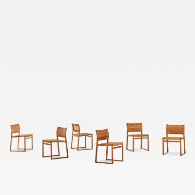 B rge Mogensen Borge Mogensen Dining Chairs Model BM 61 Produced by Fredericia Stolefabrik
