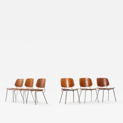B rge Mogensen Borge Mogensen Dining Chairs Produced by S borg M bler