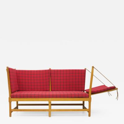 B rge Mogensen Borge Mogensen Early Spokeback Sofa by Borge Mogensen for Fritz Hansen 1963