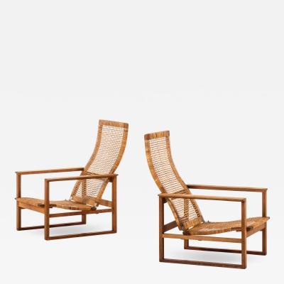 B rge Mogensen Borge Mogensen Easy Chairs Model BM 2254 Sl destolen Produced by Fredericia Stolefabrik