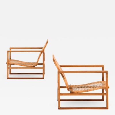 B rge Mogensen Borge Mogensen Easy Chairs Model BM 2256 Sl destolen Produced by Fredericia Stolefabrik