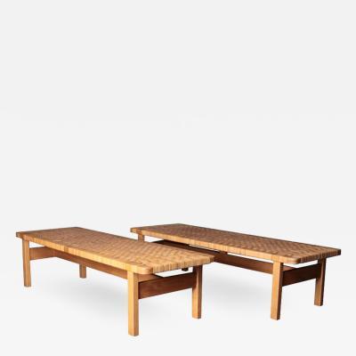 B rge Mogensen Borge Mogensen Pair of benches model 5272
