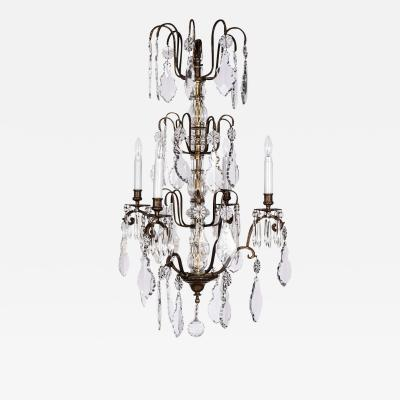 Baccarat 19th Century Crystal Chandelier