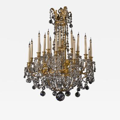 Baccarat A Louis XVI Style Twenty Light Chandelier