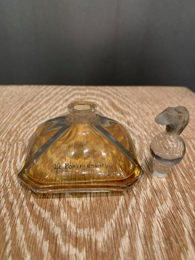 Baccarat A Porte bonheur perfume bottle by Baccarat and Viard for the dOrsay perfumes