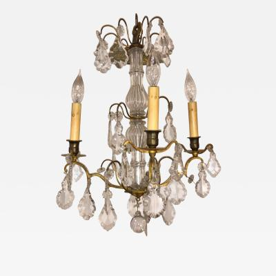 Baccarat Antique Baccarat French Crystal Chandelier