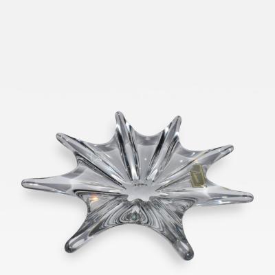 Baccarat Baccarat Clear Glass Starburst Bowl