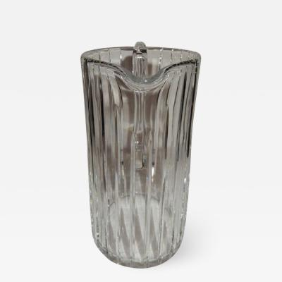Baccarat Baccarat Tall Crystal Pitcher