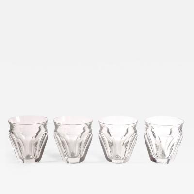 Baccarat Four Baccarat Harcourt Talleyrand Crystal Tumblers