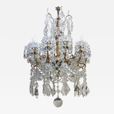 Baccarat L 12 Neoclassical Chandelier by Baccarat