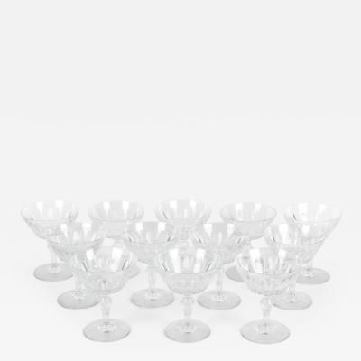 Baccarat Mid 20th Century Baccarat Glassware Set