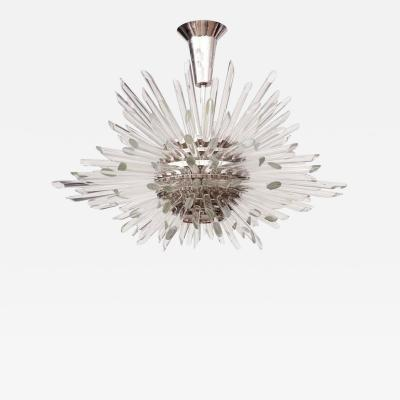 Bakalowits Sohne Glass Rod Sputnik Chandelier