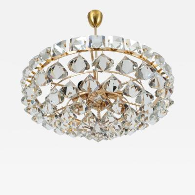 Bakalowits Sohne Impressive Chandelier with Pear Shaped Crystals