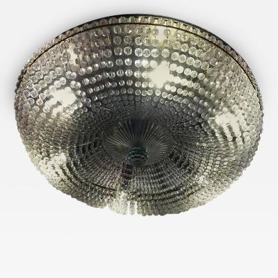 Bakalowits Sohne Spectacular Classical Basket Cut Crystal Chandelier