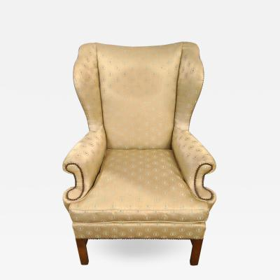 Baker Furniture Company Baker Furniture Company Chippendale Wingback or Desk Chair in a Fine Fabric