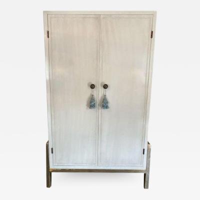 Baker Furniture Company Modern Laura Kirar for Baker Modern Cabinet W Custom Dry Bar Interior