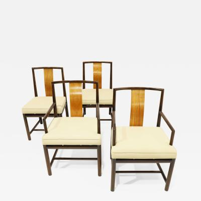 Baker Furniture Company Set of Four Baker Dining Chairs