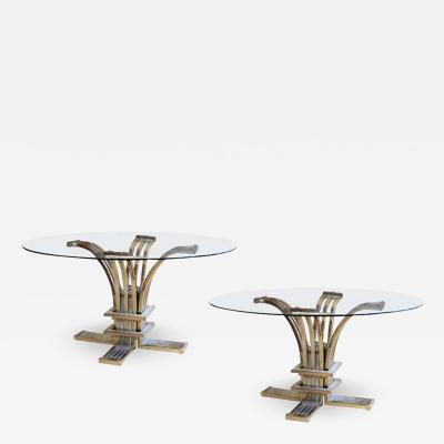 Banci Firenze A PAIR OF ITALIAN 1960S SIDE TABLES BY BANCI