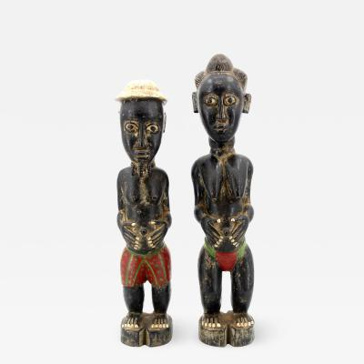 Baoul Baoul Wooden statue Africa Ivory Coast