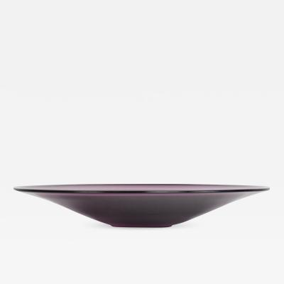 Barovier Seguso Ferro Mid Century Modern Murano Italian Decorative Plate